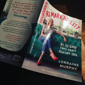 Lorraine Murphy's book Remarkability on Rebecca Newman (@_rebeccanewman_) • Instagram photos and videos